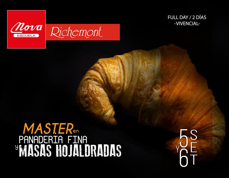 Master en Panadería Fina y Masas Hojaldradas